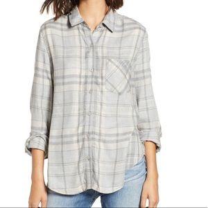 BP Plaid heathered shirt
